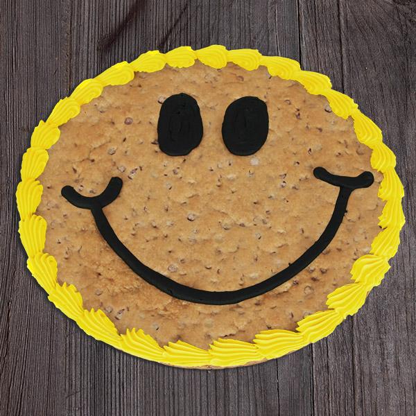 Smile Cookie Cake By Gourmetgiftbaskets Com
