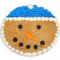 Snowman Cookie Cake (8682CC)