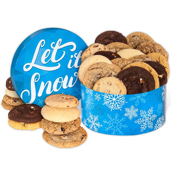 Let It Snow Cookie Gift Box 8965CC