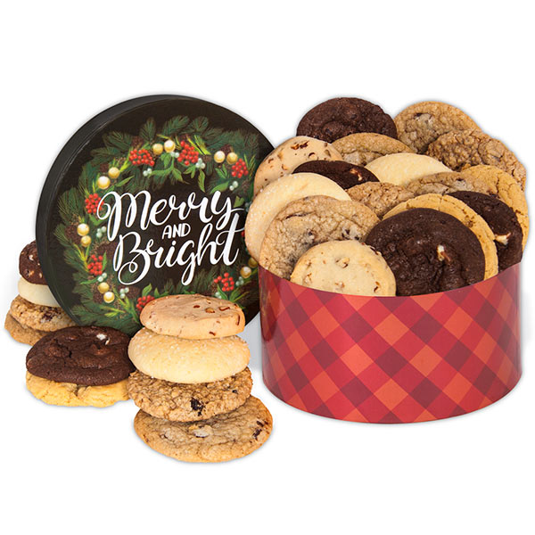 Merry & Bright Cookie Gift Box 8966CC