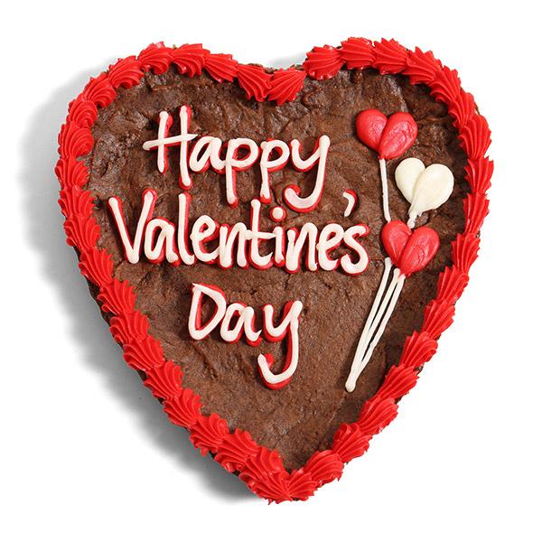Valentine\'s Day Brownie Cake by Cheesecake.com
