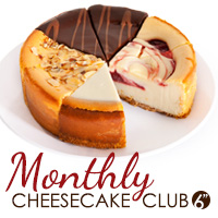 Monthly Cheesecake Club - 6 Inch (CLUBCC6)