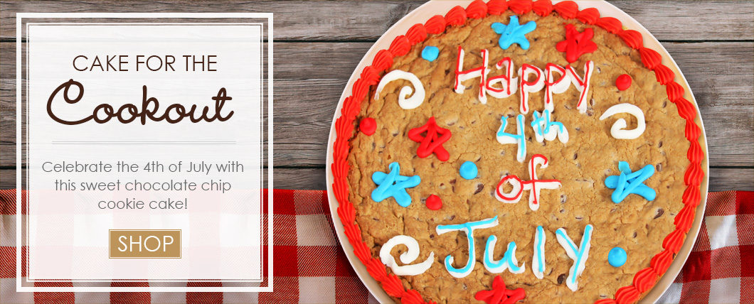 Happy 4th of July Cookie Cake