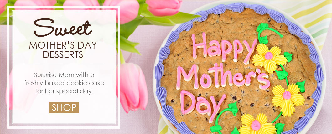 Mothers Day Cookie Cake Gourmet Basket